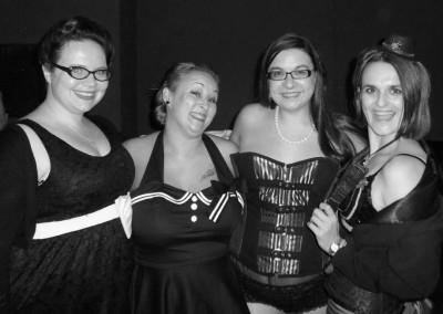 Paper Dolls UK burlesque troupe - current lineup