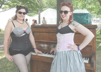 Lotta Fiero and Louise of Louise Rose Couture