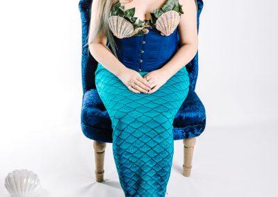 Mermaid Kerenza Sapphire - mermaid alter ego at unfurlingyourwings.com